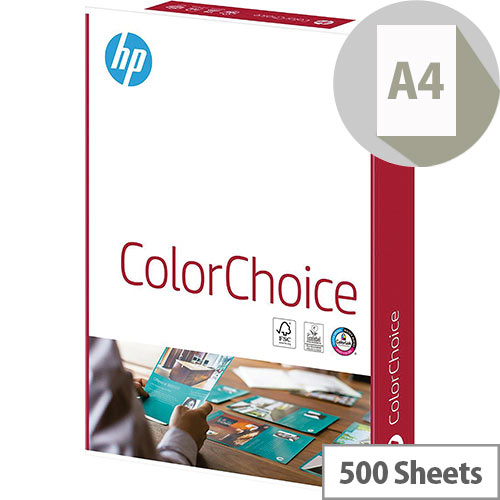 HP Hewlett Packard Laser Printer Paper A4 100gsm White 500 Sheets