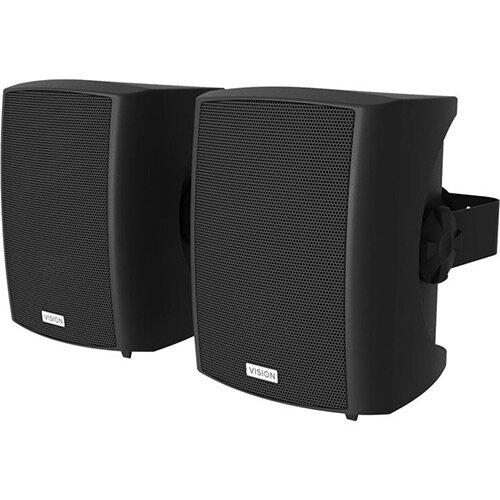 Vision SP-1800 Speakers for PA System Black