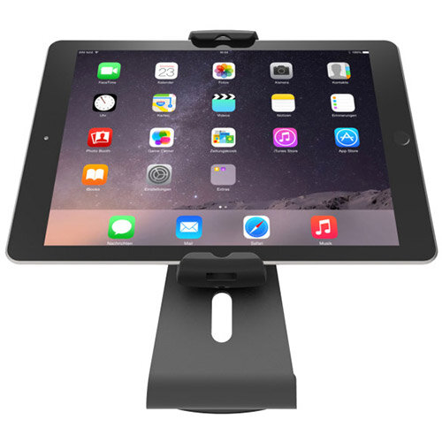 Compulocks Cling 360 - Universal Tablet Counter Top Kiosk - Black - Stand for tablet - black - table mount