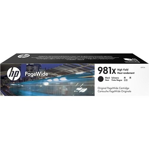HP 981X Black High Capacity PageWide Ink Cartridge L0R12A