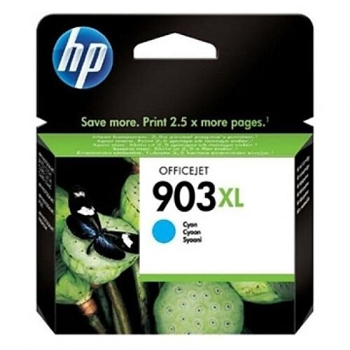HP 903XL Inkjet Cartridge Cyan T6M03AE