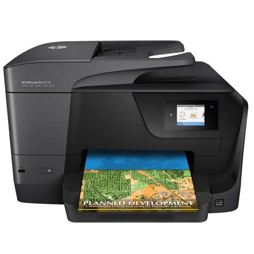 Hp Officejet Pro 8710 All In One Multifunction Printer Colour