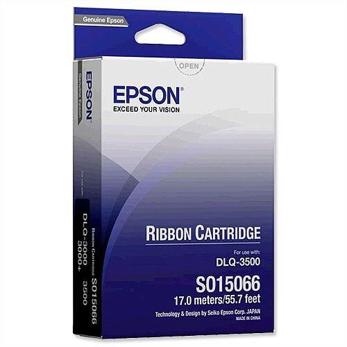 Epson S015066 Printer Ribbon Black for Q3000
