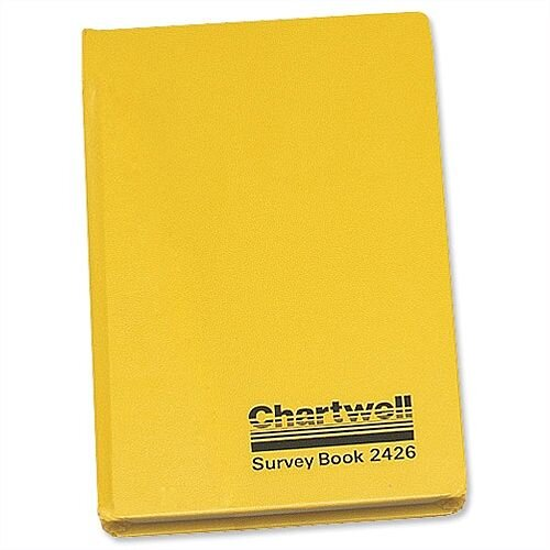 Chartwell Survey Book Level Collimation Weather Resistant 7.5x4.75  2426Z