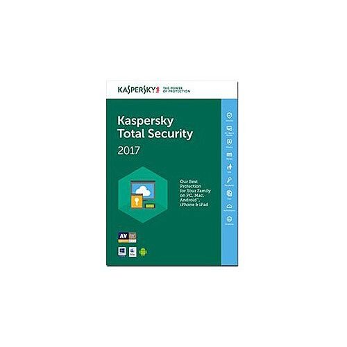 Kaspersky Total Security 2017 Box Pack 1 Year 3 Devices