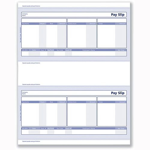 Sage Compatible Pay Advice 1-Part Pack 500 SE95S