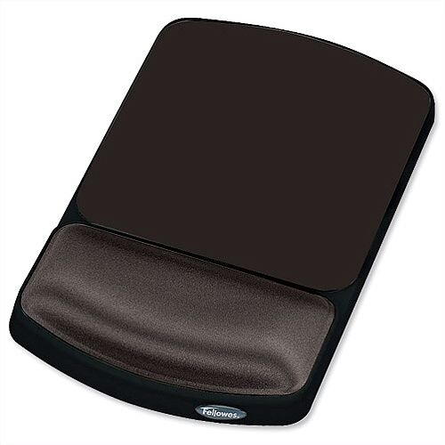 Fellowes Gel Mouse Pad Height Adjustable Graphite