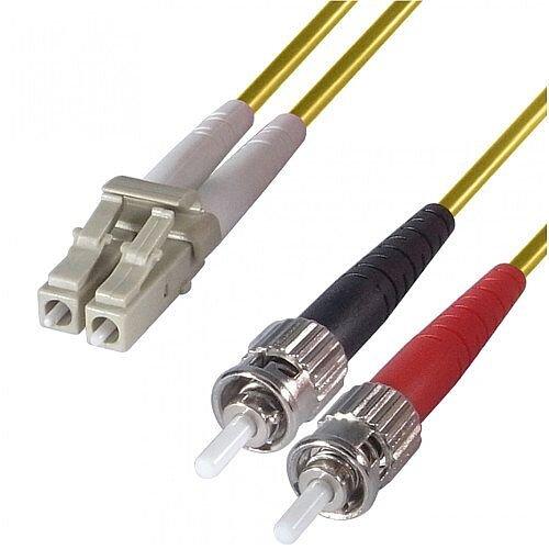 Group Gear 2M Lc-St Sm Duplex Fibre Leads Yellow 9-DX-LC-ST-2-YW