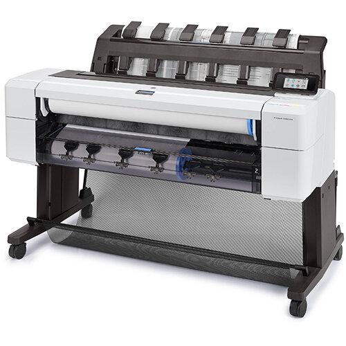 HP Designjet T1600 Large Format Thermal Inkjet Printer - 2400 x 1200 dpi - Paper Size: A0,A1,A2,A3,A4 - Cyan,Grey,Magenta,Matte Black,Photo Black,Yellow