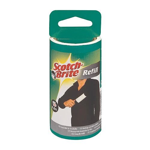 3M Scotch-Brite Lint Roller Refill - Contains 30 replacement Film Sheets - Pack of 1- 836RP-30EU