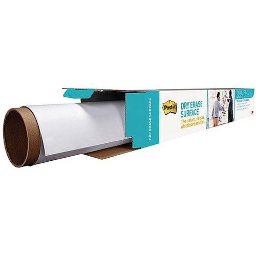 Post-it Super Sticky White Dry Erase Film Roll 1.219 x 2.438mm DEF8X4-EU