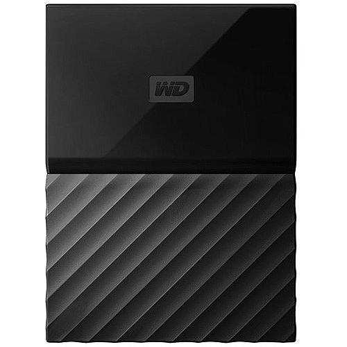 WD My Passport for Mac WDBFKF0010BBK External Hard Drive 1 TB USB 3.0 Black