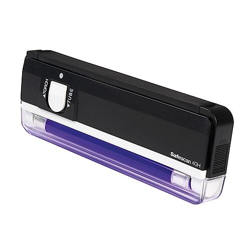 Safescan Hand Held UV Lamp 40H 130-0444 Counterfeit Detector
