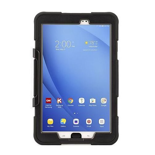 Griffin Survivor All-Terrain - Protective case for tablet - silicone, polycarbonate, PET - black - for Samsung Galaxy Tab A (2016) (10.1 in)