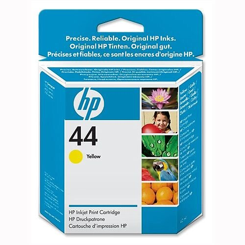 HP 44 Yellow Inkjet Cartridge 42ml 51644YE