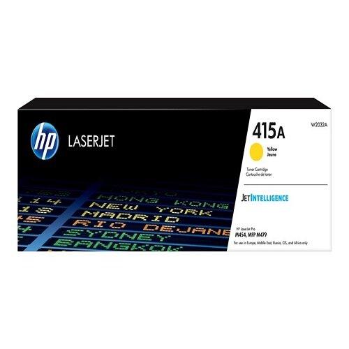 HP 415A - Yellow - original - LaserJet - toner cartridge (W2032A) - for Color LaserJet Pro M454, MFP M479