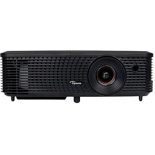 Optoma DS348 DLP 3D Multimedia Projector 3000 ANSI Lumens SVGA 800x600 Portable – Eco+ Technology, AV Mute, Energy Saving, 3D Ready, Optional Wireless Adapter, Auto Power Off &Lightweight (95.71P02GC1E)