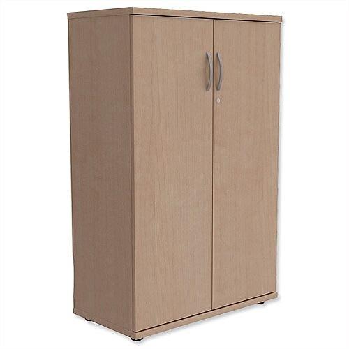 Medium Cupboard with Lockable Doors H1130mm Maple Kito