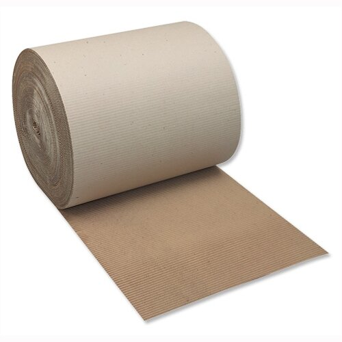 Recycled Corrugated Paper 650mm x 75m Single-Faced Roll Ambassador