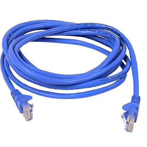 Belkin Patch Cable CAT5e Snagless UTP (Blue) 0.5m RJ-45