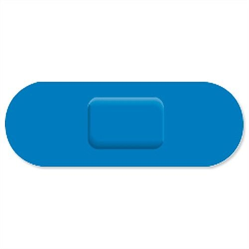 Wallace Cameron Blue Catering Plasters One Size 70x24mm Pack of 150