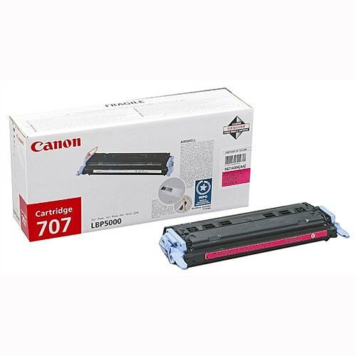 Canon 707 Magenta Toner Cartridge 9422A004 707M