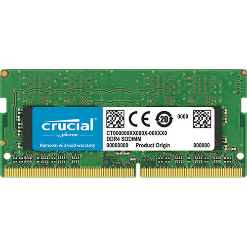 Crucial - DDR4 - 16 GB - SO-DIMM 260-pin - 2666 MHz / PC4-21300 - CL19 - 1.2 V - unbuffered - non-ECC