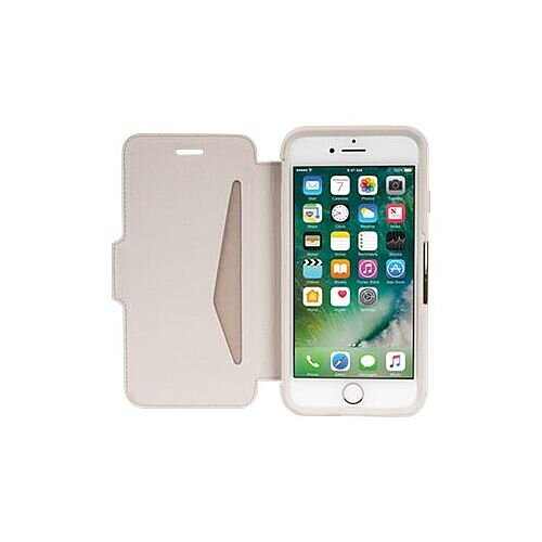 OtterBox Strada Series Folio Flip Cover for Apple iPhone 7/8 (Colour Soft Opal)
