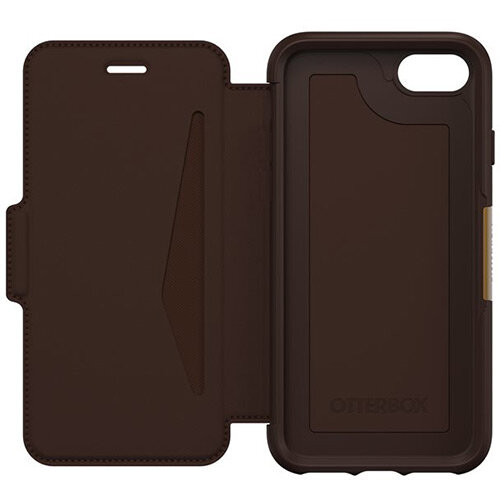 OtterBox Strada Series Folio Apple iPhone 7/8 - Limited Edition - Flip Cover for Mobile Phone - Colour: Espresso
