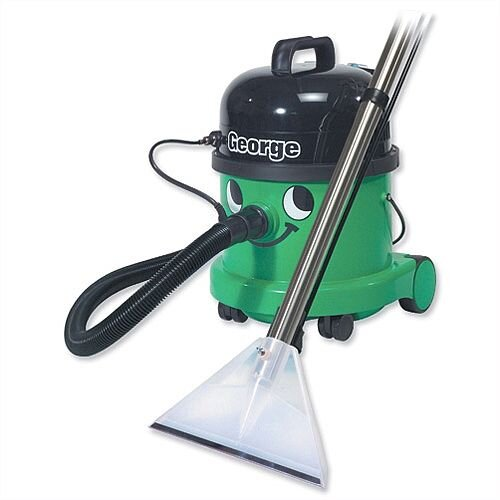 Numatic George Vacuum Cleaner All-in-One 1200W 15L Dry 9L Wet 9.5kg Green Ref GVE370A26 446465