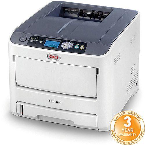 OKI C610DM A4 Colour LED Laser Medical Printer 45079301