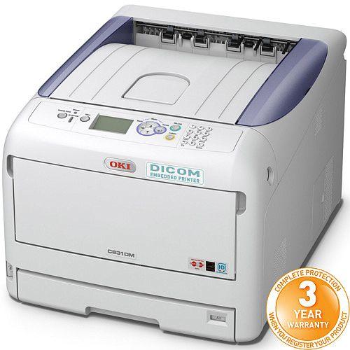 OKI C831DM Dicom Medical LED Laser Printer Colour A4, A3