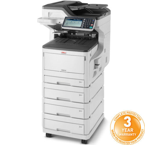 OKI MC873dnv A3 Colour Multifunction LED Laser Printer 45850625