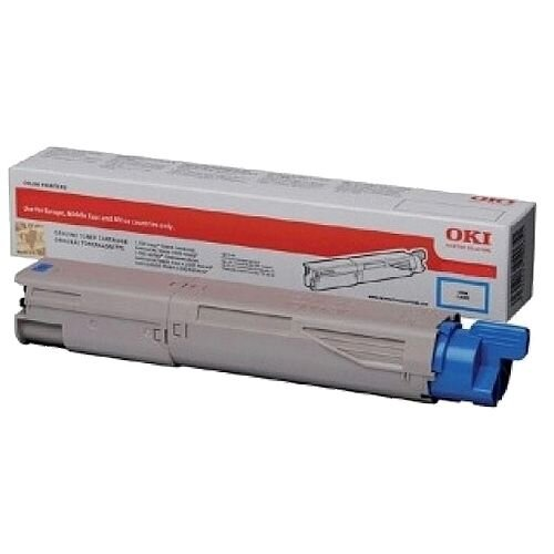 OKI 45862839 Cyan Toner Cartridge Original