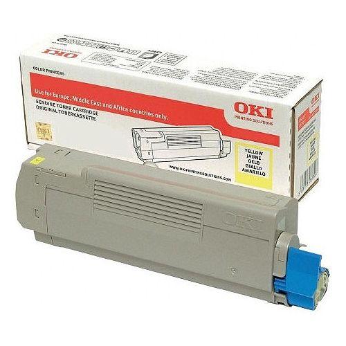 Oki 46507613 Standard Yield Yellow Laser Toner