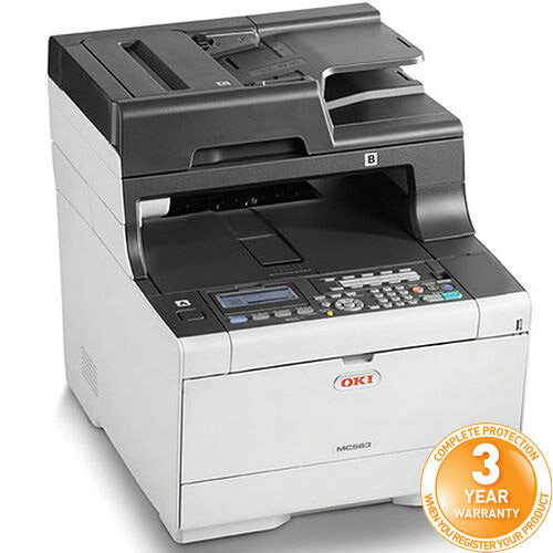 OKI MC563dn A4 Multifunction Colour LED Laser Printer 46552701