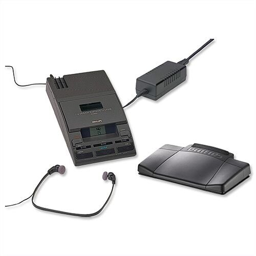 LFH720T Philips Transcription Kit of Machine 155 Power Supply 234 Headset and 210 Foot Control