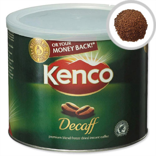 Kenco Decaffeinated Instant Coffee 500g Pack of 1 88633