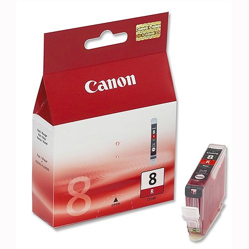 Canon CLI-8R Red Ink Cartridge 0626B001
