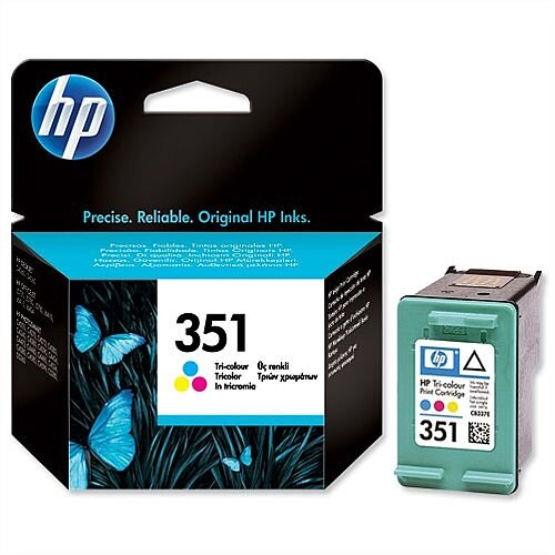 HP 351 Colour Ink Cartridge 58g CB337EE