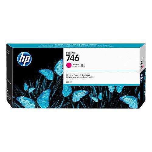 HP 746 - 300 ml - magenta - original - DesignJet - ink cartridge - for DesignJet Z6 PostScript, Z6dr PostScript, Z9+ PostScript, Z9+dr PostScript