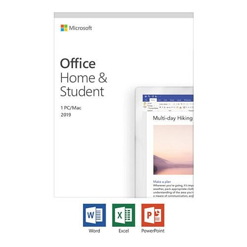 Microsoft Office Home and Student 2019 - box pack - 1 PC/Mac