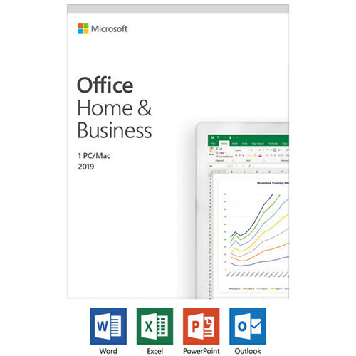 Microsoft Office Home and Business 2019 - Box Pack - 1 PC/Mac
