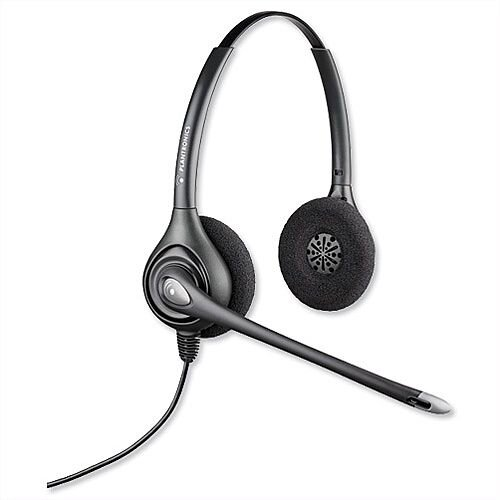 Plantronics HW261/A SupraPlus Telephone Headset Wired Binaural