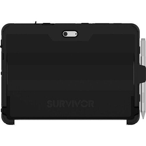 Griffin Survivor Slim - back cover for tablet - Black