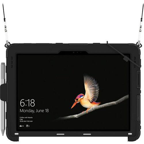 Griffin Survivor Slim - Black back cover for tablet