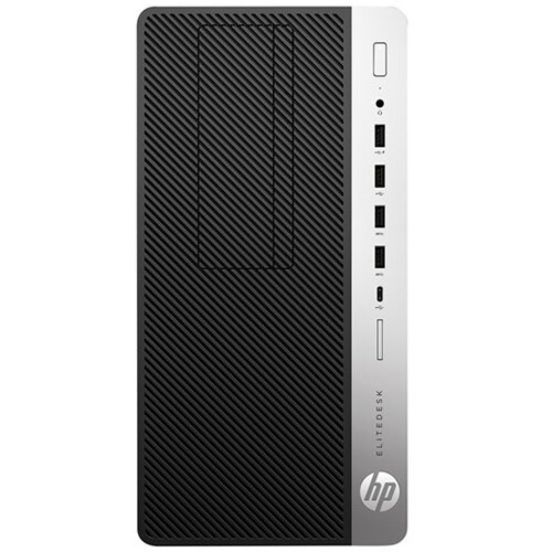 HP EliteDesk 705 G4 - micro tower desktop PC - Ryzen 5 Pro 2400G 3.6 GHz - 8 GB - 256 GB