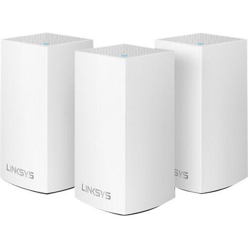 Linksys VELOP Whole Home Mesh Wi-Fi System VLP0103 - Wi-Fi system - 802.11a/b/g/n/ac,Bluetooth 4.1 LE - desktop