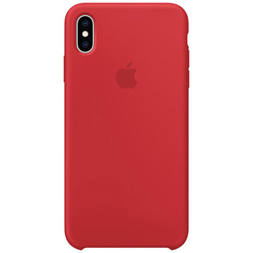 Apple RED - Silicone back cover for mobile phone iPhone XS Max