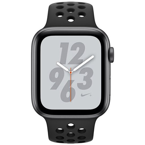 Apple Watch Nike+ Series 4 (GPS + Cellular) - space grey aluminium - smart watch with Nike sport band - anthracite/black - 16 GB